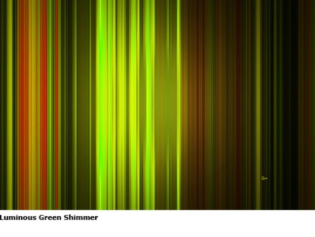 Luminous Green Sequence