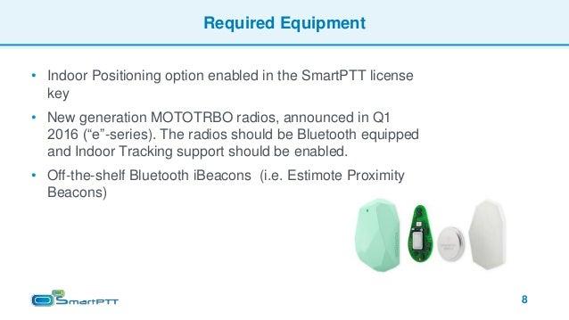 SmartPTT Indoor Tracking Presentation - English - 2016-12-01