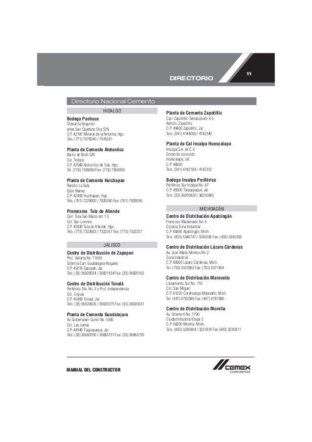 manual de constructor (CEMEX)
