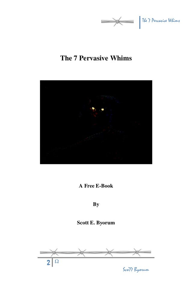 the_7_pervasive_whims Slide 2
