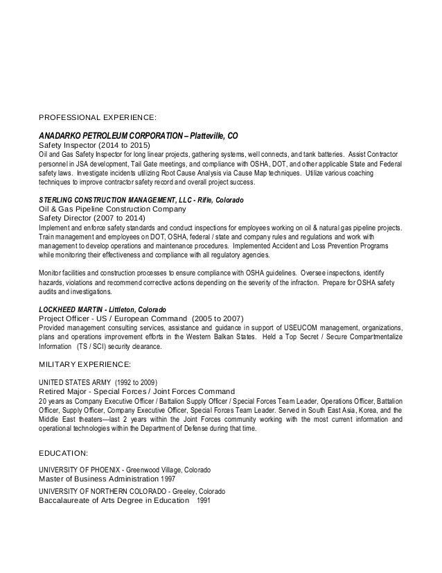 rittenhouse inspector resume