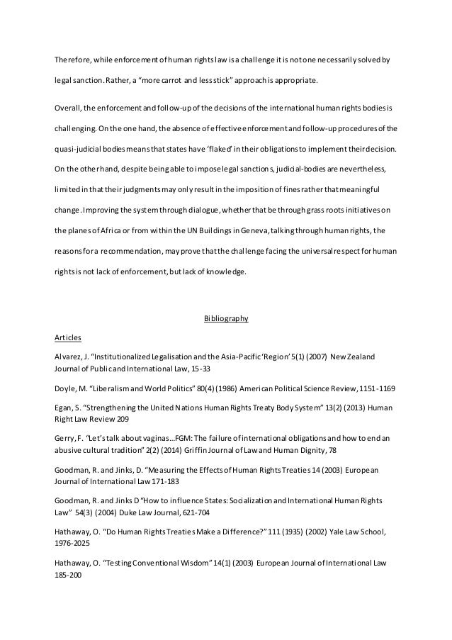 international human rights law essay final  african law 139 150 16