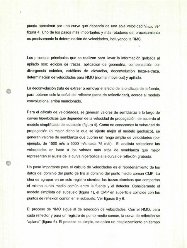 PROCESADO SÍSMICO EN LA EXPLORACIÓN PETROLERA