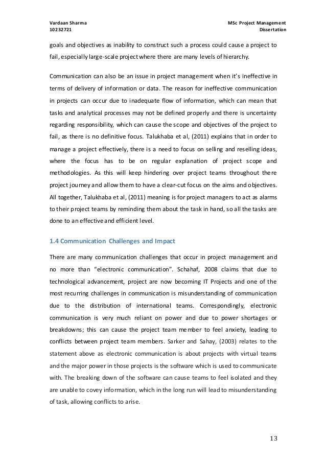 Project management failure dissertation argumentative essay about computer literacy