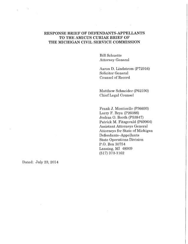 Michigan Supreme Court Brief_Coalition