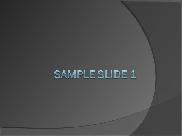 Sample Slide 2     HelloPT is a helpful application to make more effective and organized presention in various presentat...