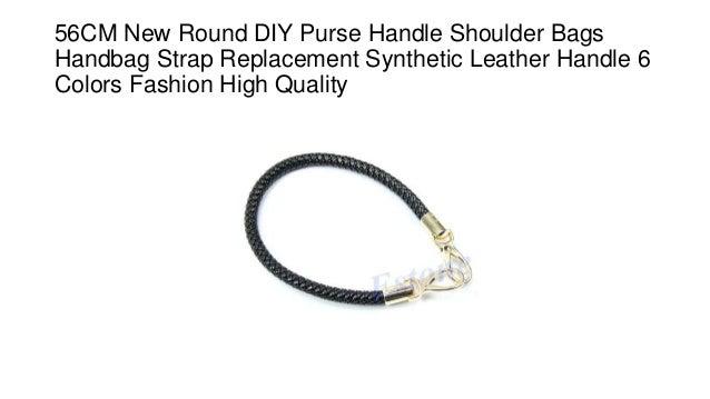 New Round Purse Handle Shoulder Bags Handbag Strap Replacement DIY