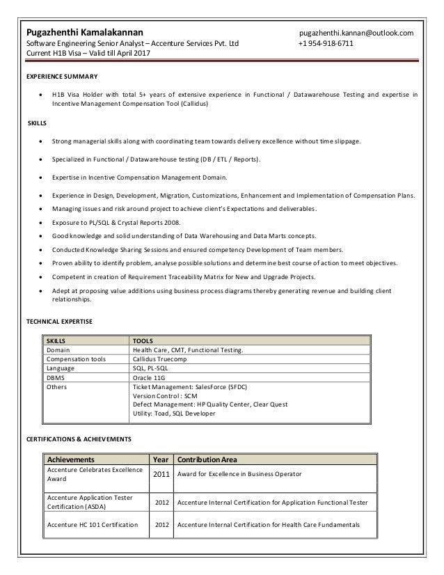 Pugazhenthi Kannan - Resume
