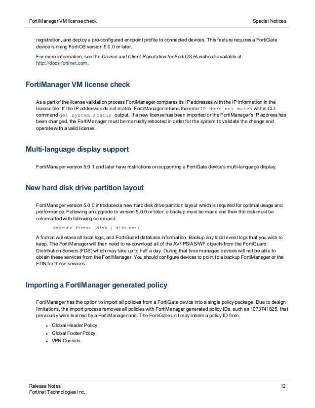 Fortigate License Status Pending