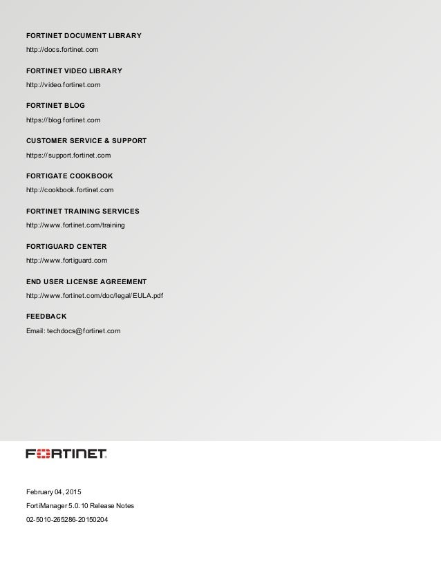 fortimanager-v5 0 10-release-notes