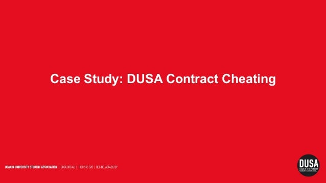 Case Study: DUSA Contract Cheating