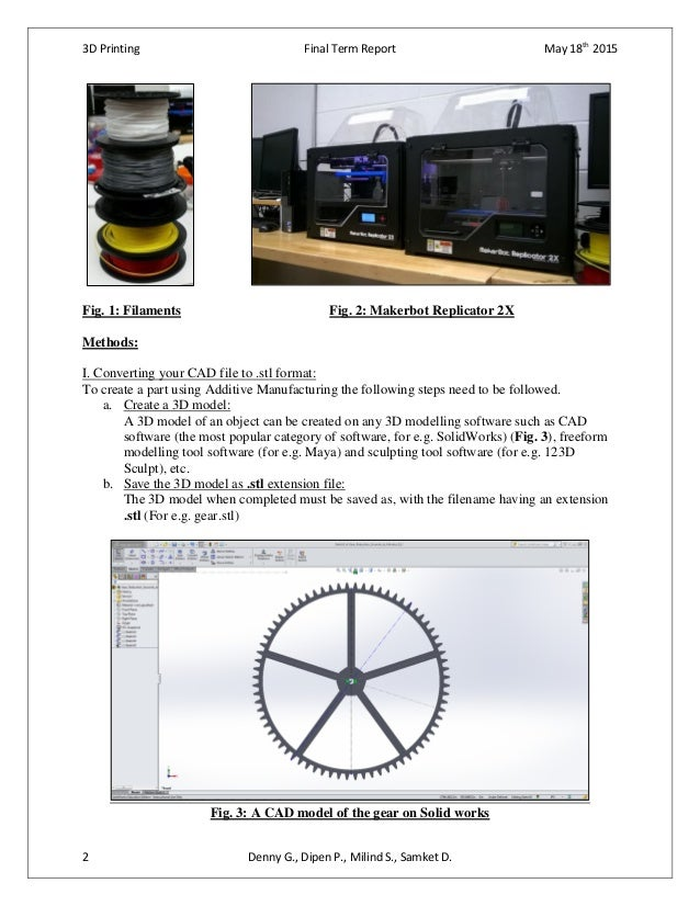 Study on Accuracy Parameters of parts for a 3D Printed Mechanical Clock Slide 2