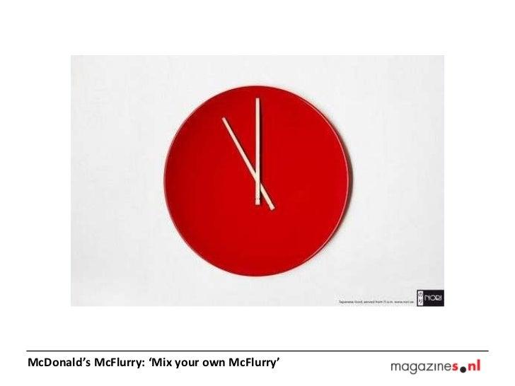 McDonald's McFlurry: 'Mix your own McFlurry'