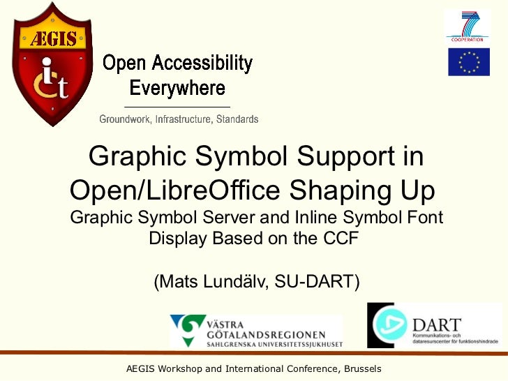 Graphic Symbol Support inOpen/LibreOffice Shaping UpGraphic Symbol Server and Inline Symbol Font         Display Based on ...