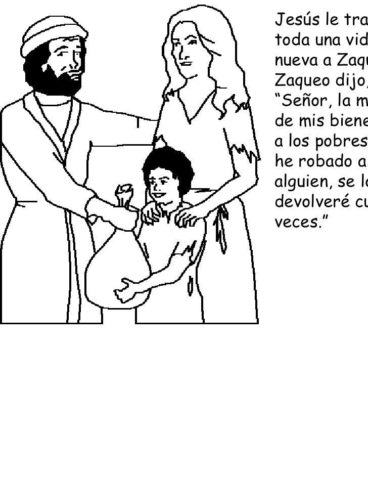 Zaqueo Baja Del Arbol