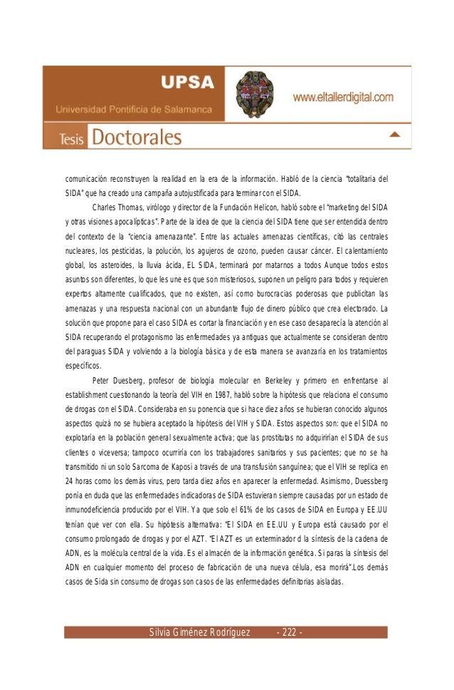 """Silvia Giménez Rodríguez - 222 - comunicación reconstruyen la realidad en la era de la información. Habló de la ciencia """"t..."""