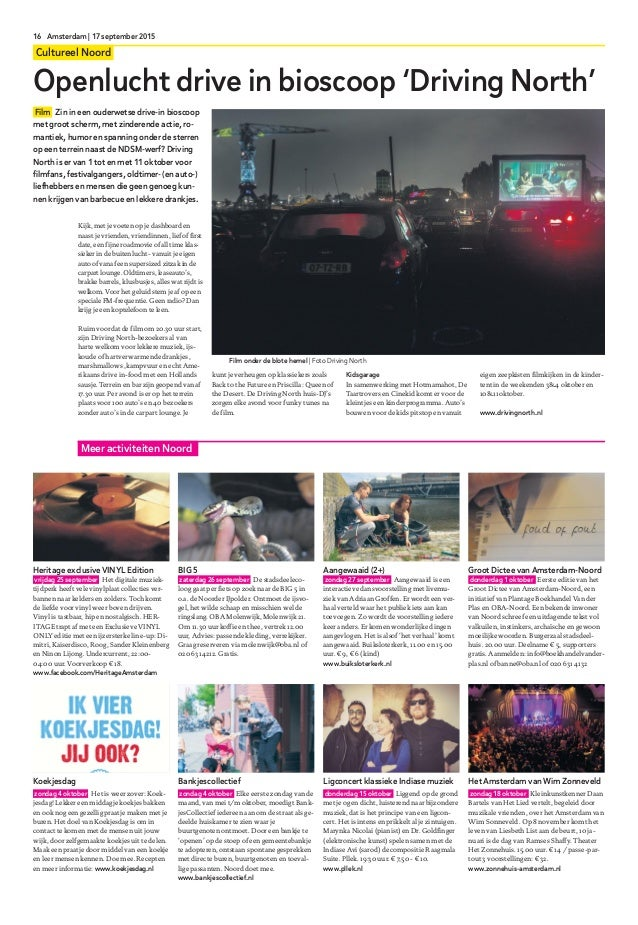 08 amsterdam editie noord 17 september 2015 1 for Drive in bioscoop