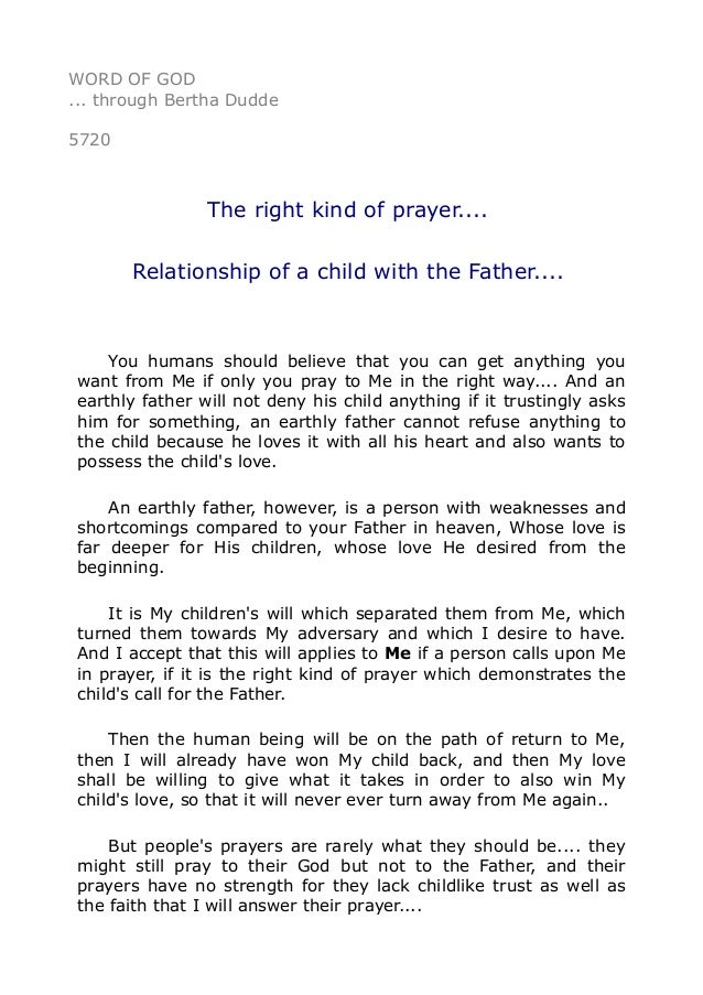5720 the right kind of prayer relationship of a child with the spiritdancerdesigns Choice Image