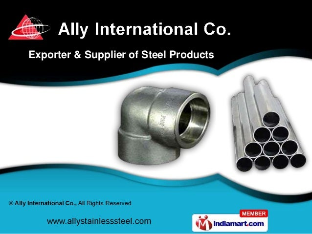 Exporter & Supplier of Steel Products