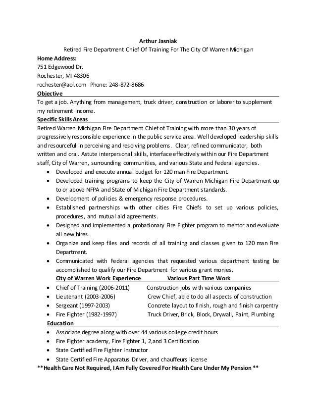 Arthur Jasniak Job Resume 6 For Zip Recruiter - Copy - Copy - Copy