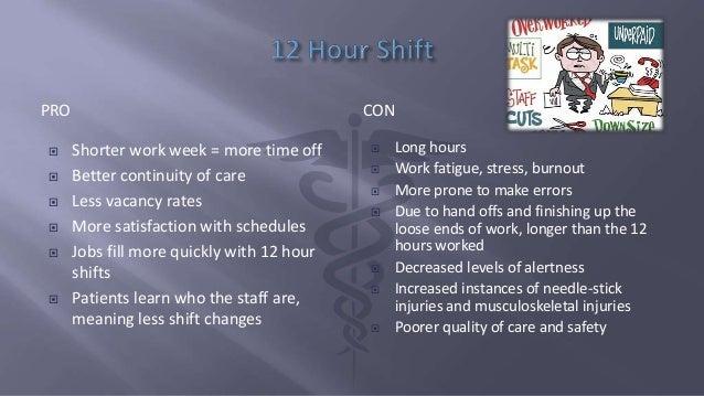 8 Versus 12 Hour Shifts