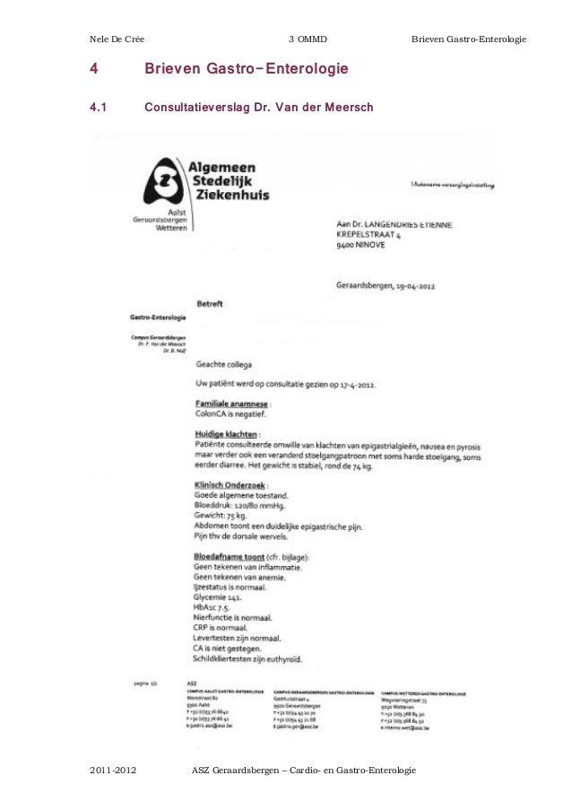 Stageverslag ASZ Geraardsbergen