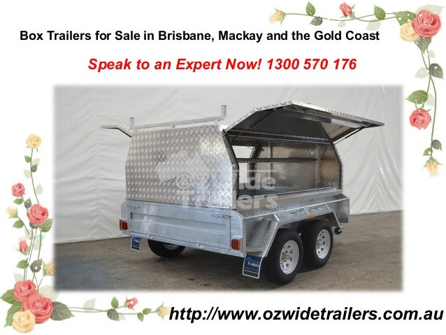Box Trailers for Sale in Brisbane, Mackay and the Gold Coast http://www.ozwidetrailers.com.au Speak to an Expert Now! 1300...