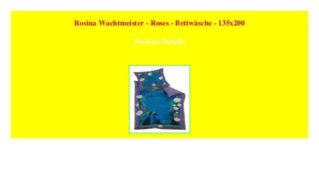 Rosina Wachtmeister Roses Bettwäsche 135x200
