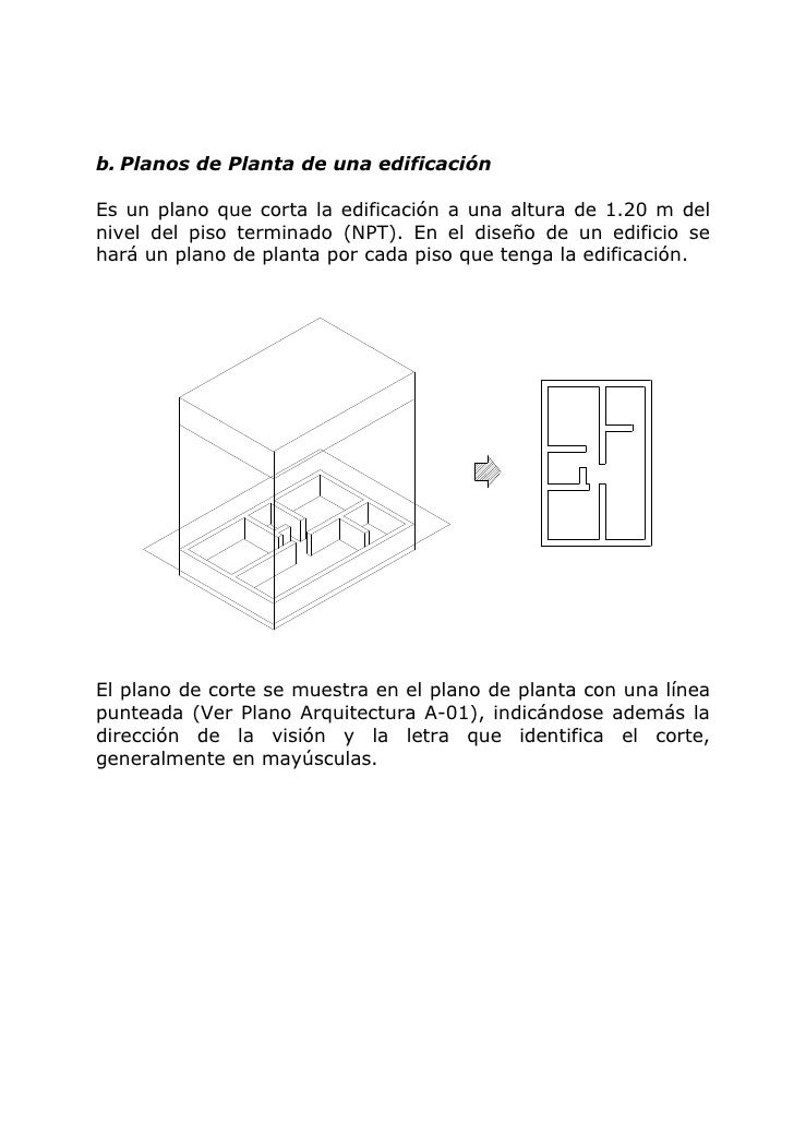 57590915 lectura de planos y metrados en edificaciones - Altura de un piso ...