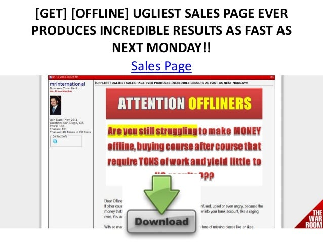 [GET] [OFFLINE] UGLIEST SALES PAGE EVERPRODUCES INCREDIBLE RESULTS AS FAST ASNEXT MONDAY!!Sales Page