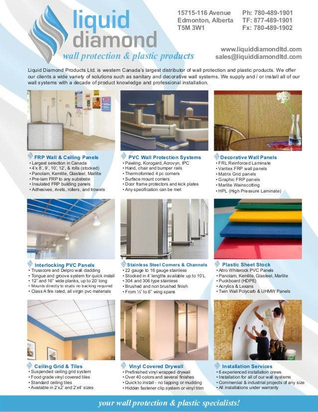 Liquid Diamond Products Ltd Product Brochure