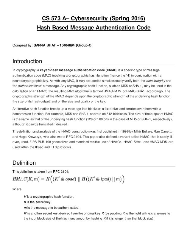 Cybersecurity Research Paper