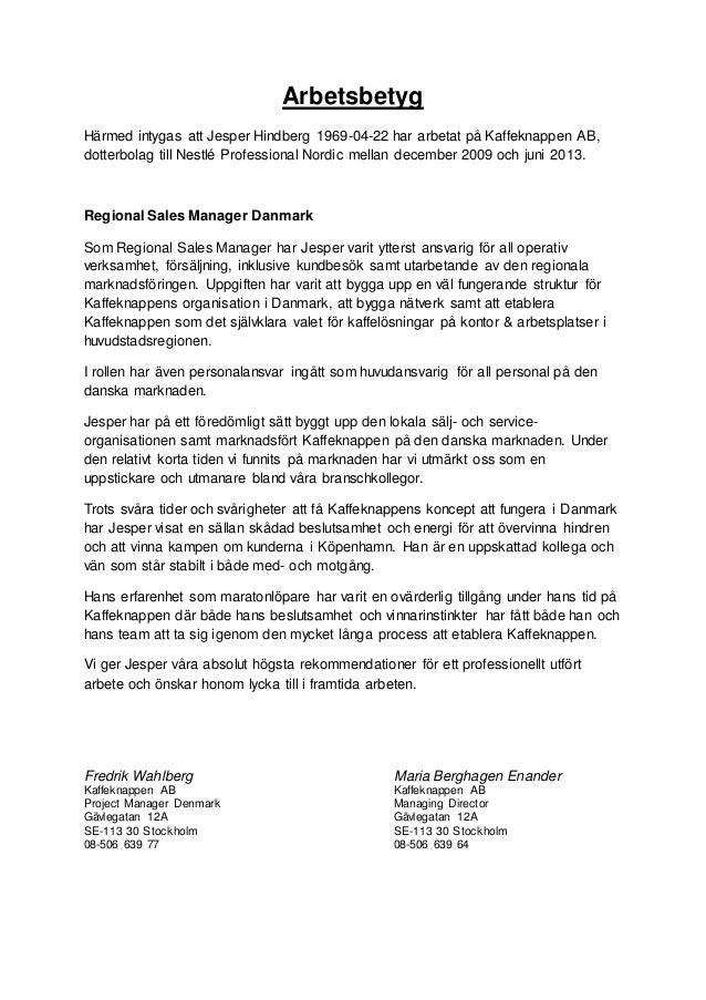 arbetsgivarintyg pdf