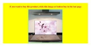 Ceranfeldabdeckung 80x52 cm Blumen Violett Herdabdeckplatten Spritzschutz Glas