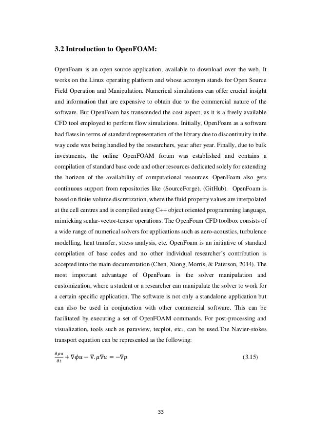 jasak openfoam thesis