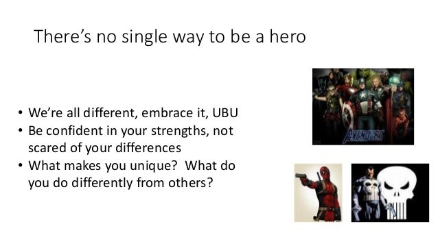 why superheroes can be important