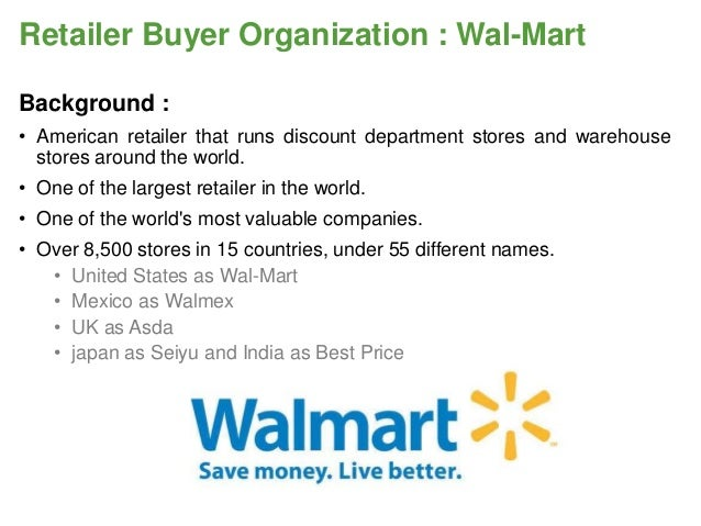 RBO Analysis WalMartnew - What is factory invoice price walmart store online