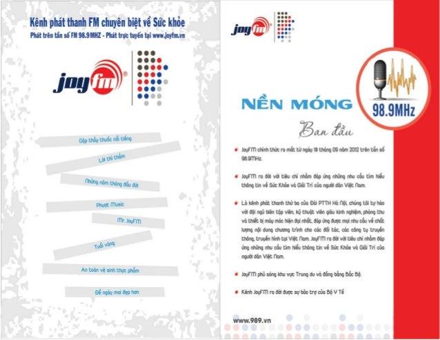 JoyFM.Prochure.2016.Ver6.0