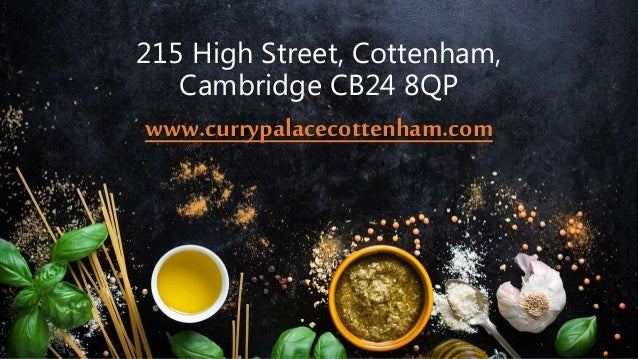 Curry Palace Indian Restaurant Takeaway In Cambridge Uk