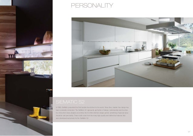 siematic brochure pdf. Black Bedroom Furniture Sets. Home Design Ideas