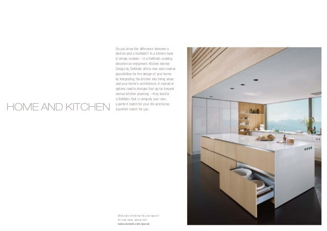 Siematic Brochure Pdf