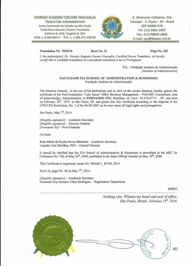 2961110 fia certification