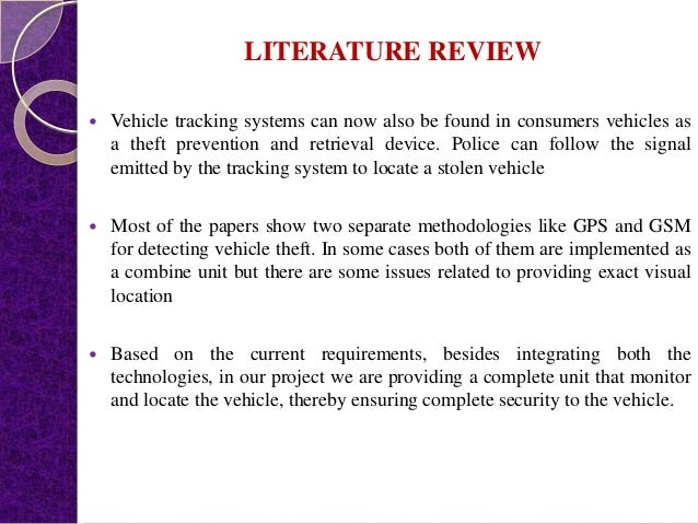 Vehicle Theft Control System