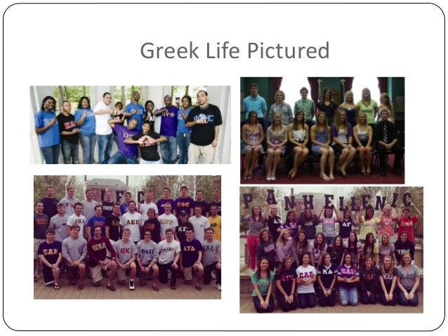 Greek Life Pictured