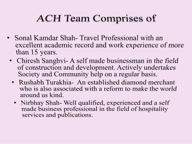 ACH Profile 2016 Slide 3