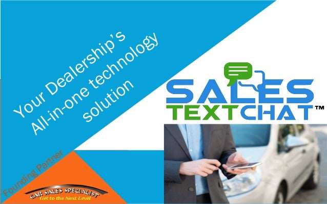 Your Dealership's All-in-one technology solution Founding Partner