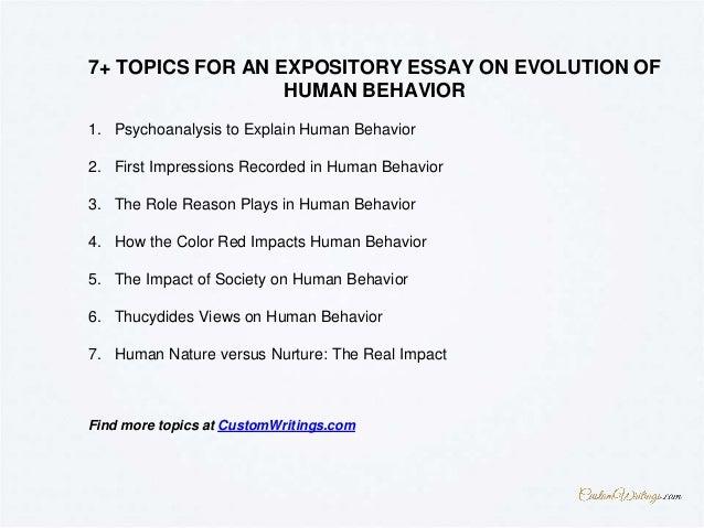 evolution of human behavior ppt