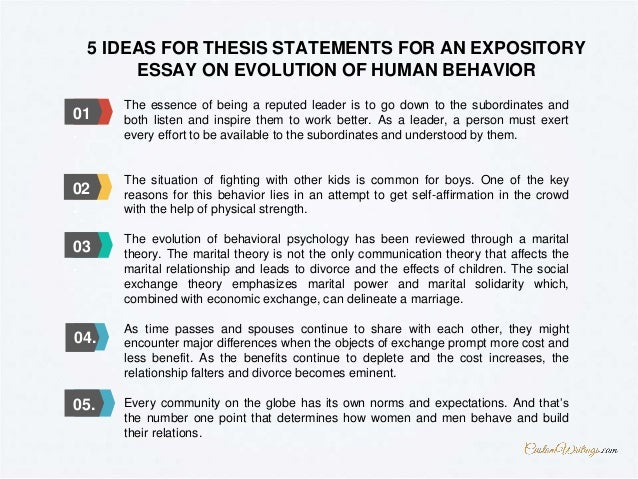 Science Essay Questions   English Essay also Compare And Contrast Essay Topics For High School Complete Guide On Writing An Expository Essay On Evolution Of Human B Essay On How To Start A Business