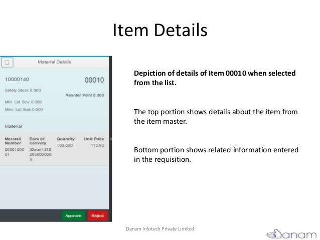 Approval SAPUI5 Applications for Purchase Order and Purchase Requisi…