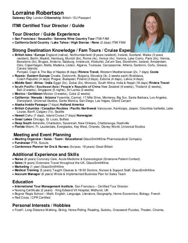 Lorraine Robertson Itmi Resume June2016 Linked In